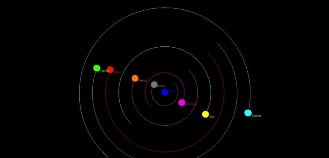 STEMforYouth – Cosmos simulation video